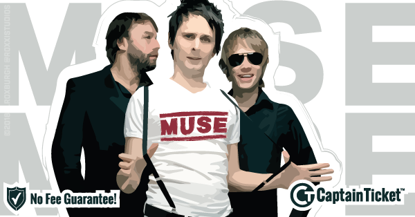 Buy Muse tickets cheaper with no fees at Captain Ticket™ - The Original No Fee Ticket Site!