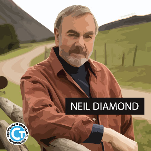 Cheap Neil Diamond tickets with no fees from CaptainTicket.com