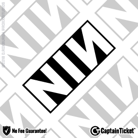 Buy Nine Inch Nails tickets cheaper with no fees at Captain Ticket™ - The Original No Fee Ticket Site!