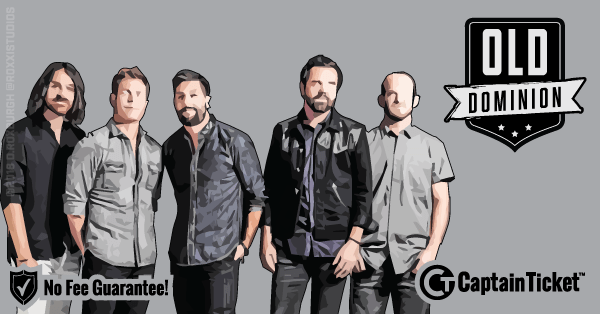 Buy Old Dominion tickets cheaper with no fees at Captain Ticket™ - The Original No Fee Ticket Site!