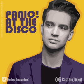 Buy Panic at the Disco tickets cheaper with no fees at Captain Ticket™ - The Original No Fee Ticket Site!