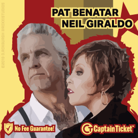 See Pat Benatar + Neil Giraldo Live At The Cheapest Tickets Prices!