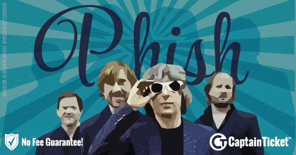 Buy Phish tickets cheaper with no fees at Captain Ticket™ - The Original No Fee Ticket Site!