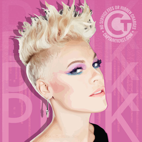 Get Pink Tickets cheap with no fees or hidden charges