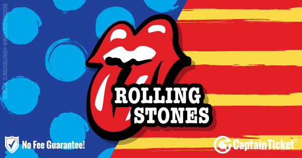Buy Rolling Stones tickets cheaper with no fees at Captain Ticket™ - The Original No Fee Ticket Site!