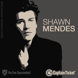 Get Shawn Mendes Tickets For Less With No Fees - On Sale Now!