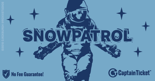Buy Snow Patrol tickets cheaper with no fees at Captain Ticket™ - The Original No Fee Ticket Site!
