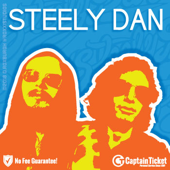 Get Steely Dan Tickets cheap with no fees or hidden charges