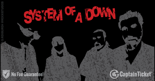 Buy System of a Down tickets cheaper with no fees at Captain Ticket™ - The Original No Fee Ticket Site!