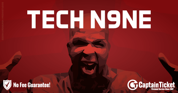 Buy Tech N9ne tickets cheaper with no fees at Captain Ticket™ - The Original No Fee Ticket Site!