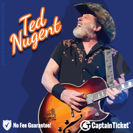 Buy Ted Nugent tickets cheaper with no fees at Captain Ticket™ - The Original No Fee Ticket Site!
