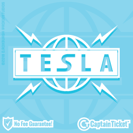 Buy Tesla tickets cheaper with no fees at Captain Ticket™ - The Original No Fee Ticket Site!