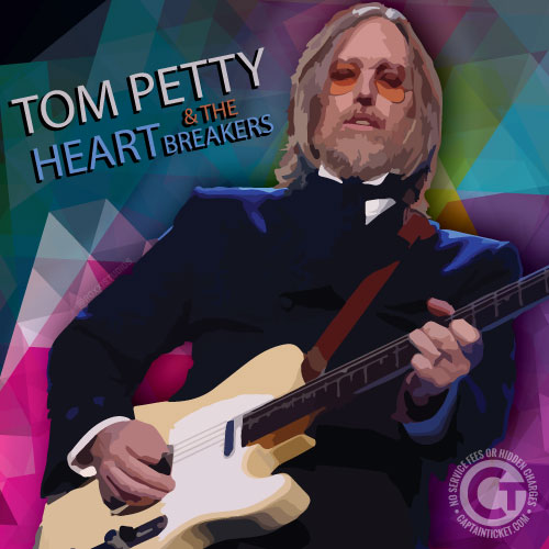 Get Tom Petty and the Heartbreakers Tickets cheap with no fees or hidden charges