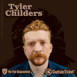 Buy Tyler Childers tickets for less with no service fees at Captain Ticket™ - The Original No Fee Ticket Site! #FanArtByRoxxi