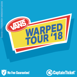 Buy Vans Warped Tour tickets cheaper with no fees at Captain Ticket™ - The Original No Fee Ticket Site!