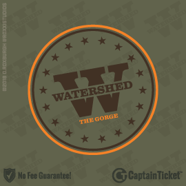 Buy Watershed Festival tickets cheaper with no fees at Captain Ticket™ - The Original No Fee Ticket Site!