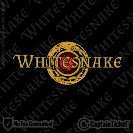 Buy Whitesnake tickets cheaper with no fees at Captain Ticket™ - The Original No Fee Ticket Site!