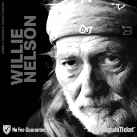Buy Willie Nelson tickets for less with no service fees at Captain Ticket™ - The Original No Fee Ticket Site! #FanArtByRoxxi