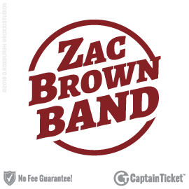 Buy Zac Brown Band tickets cheaper with no fees at Captain Ticket™ - The Original No Fee Ticket Site!