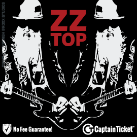 Buy ZZ Top tickets cheaper with no fees at Captain Ticket™ - The Original No Fee Ticket Site!