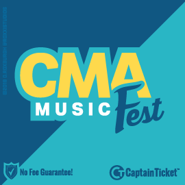 Buy CMA Music Festival tickets for less with no service fees at Captain Ticket™ - The Original No Fee Ticket Site! #FanArtByRoxxi