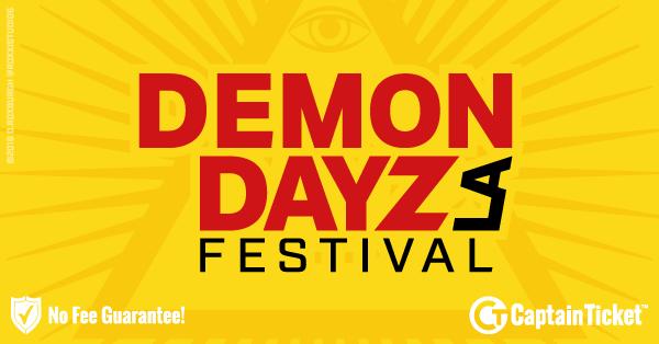 Demon Dayz Festival 2020.Demon Dayz Festival Tickets Cheaper With No Fees Captain