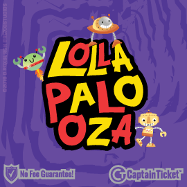 Buy Lollapalooza tickets for less with no service fees at Captain Ticket™ - The Original No Fee Ticket Site! #FanArtByRoxxi
