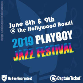 BUY PLAYBOY JAZZ FESTIVAL TICKETS