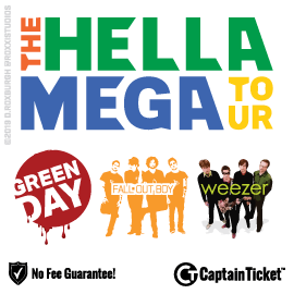 Buy Hella Mega Tour Tickets To Every Show Without Fees.