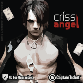 Buy Criss Angel tickets for less with no service fees at Captain Ticket™ - The Original No Fee Ticket Site! #FanArtByRoxxi