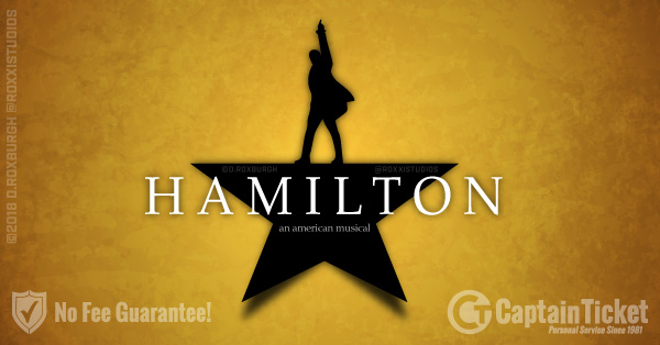 Buy Hamilton - The Musical tickets cheaper with no fees at Captain Ticket™ - The Original No Fee Ticket Site!