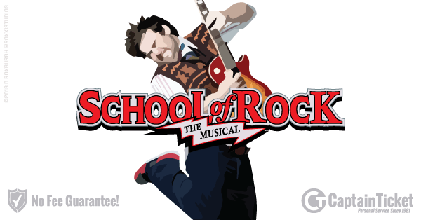 Buy School Of Rock The Musical Tickets Cheaper With No Fees