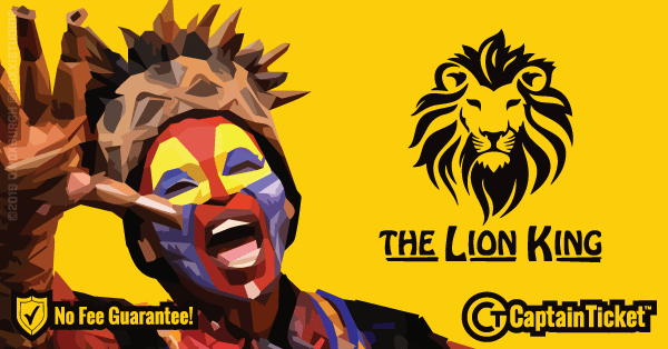 Get The Lion King tickets for less with everyday low prices and no service fees at Captain Ticket™ - The Original No Fee Ticket Site! #FanArtByRoxxi